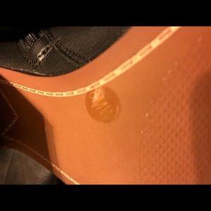 Gianni Bini black knee high boots.